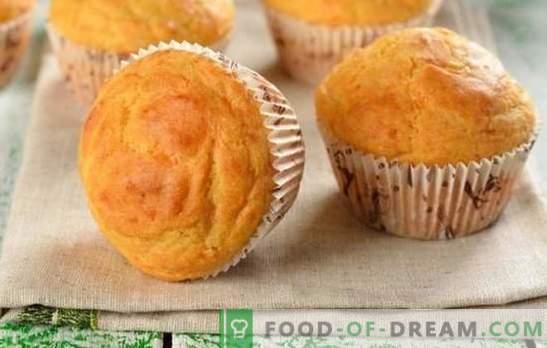 Majonees Cupcake - see on keerd! Retseptid omatehtud muffinitele majoneesil rosinate, moosi, kakao, tärklise, või ja kefiiriga
