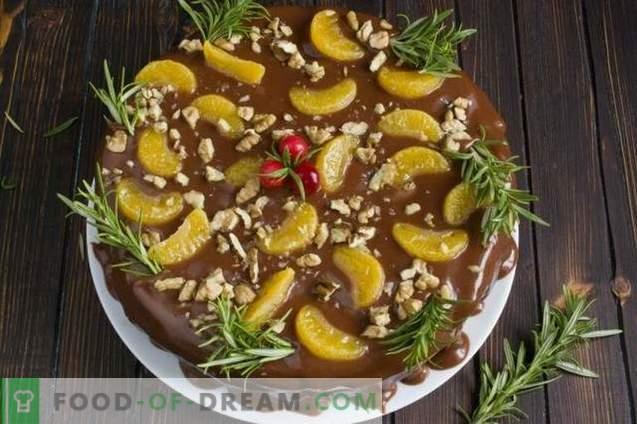 Puu-kook šokolaadikreemiga