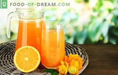 Drink from oranges at home - quench your thirst with freshness and benefits. What drinks from oranges can be prepared at home?