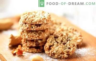 Kako narediti okusne ovsene piškote brez masla. Recepti in nasveti za izdelavo piškotov, ki ne vsebujejo masla