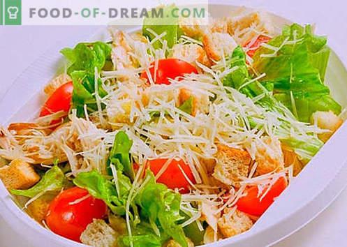 Lõhe ja kaaviari salat on õiged retseptid. Kiiresti ja maitsev salatit lõhe ja kaaviariga.