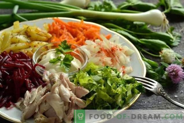Taimsed salat lihaga