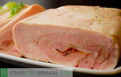 Kana ja sealiha sink kodus - kaupluses ja mitte lähedal! Kana ja sealiha omatehtud sinkiretseptid