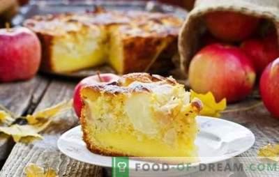 Õunakook (samm-sammult retsept) on lemmik omatehtud. Apple Pie: kiirtoit samm-sammult retsept