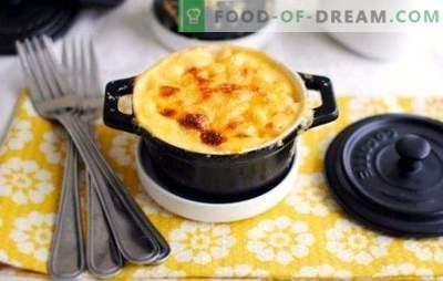 Kartulipulber - maitsev õhtusöök eriliseks sündmuseks. Parimad retseptid kartulite ja hakklihaga pottides