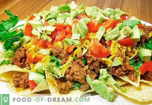 Hausgemachter Salat - Bewährte Rezepte. Wie man richtig und lecker gekochten hausgemachten Salat.