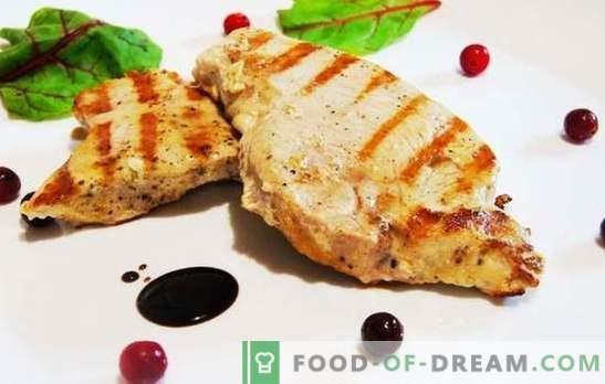 Türgi praad võib olla mahlane! Tõestatud kalkunipihvi retseptid köögiviljade, kirsside, mee, apelsinidega