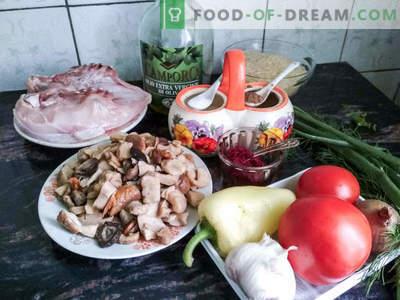 Hispaania paella - retsept maitsva Vahemere roogi valmistamiseks kodus