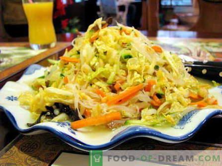 Pekinška solata - najboljši recepti. Kako pravilno in kuhati Peking solato.