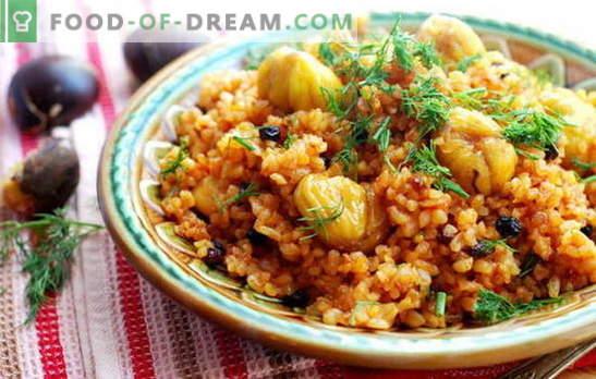 Idamaine maitse lauale - Aserbaidžaani pilaf, valmistame ennast. Aserbaidžaani pilafi erilised ja lihtsaimad retseptid