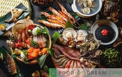 Teema uue aasta tabel: ainult kalad ja mereannid