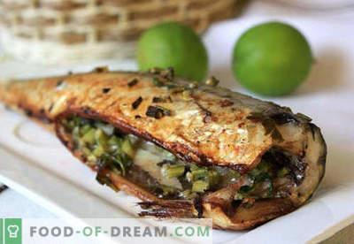 Stuffed mackerel - the best recipes. How to properly and tasty cook stuffed mackerel.