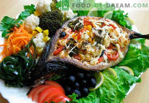 Täidis makrell - parimad retseptid. Kuidas õigesti ja maitsev kokk täidisega makrelli.