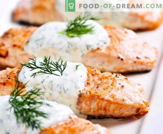 Salmón al horno - ¡cocinamos pescado real de una manera real!