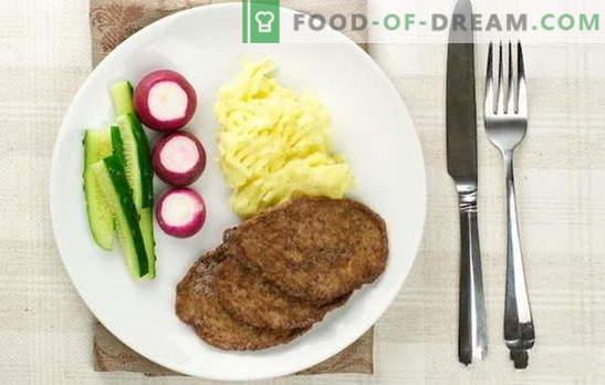 Kana maksalõiked - need on kõige õrnemad! Kana maksade söödad manna, jahu, leiva, köögiviljade, riisi, seente