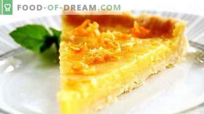 Lemon pie - parimad retseptid. Kuidas korralikult ja maitsev sidruni pirni valmistamiseks.