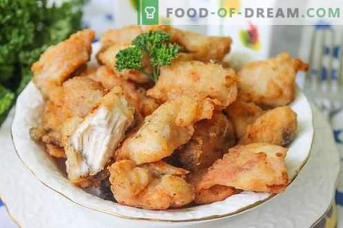 Пилешко филе - крцкаво и аппетитна храна за месо