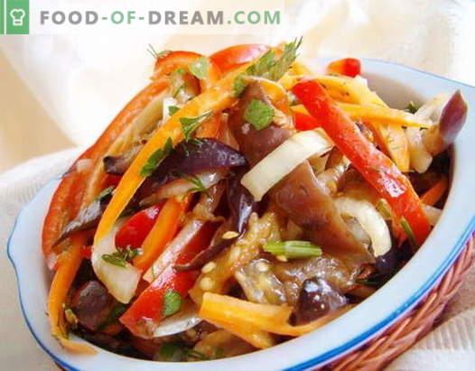 Korea salatid - parimad retseptid. Kuidas valmistada Korea salateid ja maitsvat.