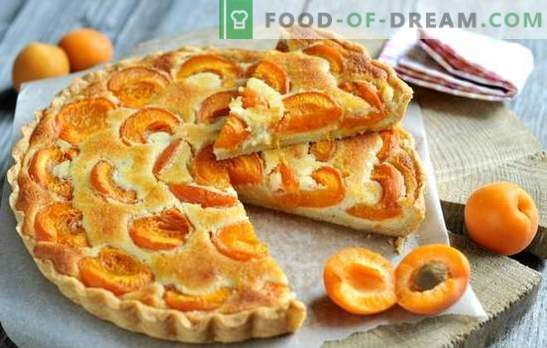 Lihtne aprikoosi tord - igaüks saab sellega hakkama! Suvel aprikoosi pirukad: lihtsad retseptid kõigile