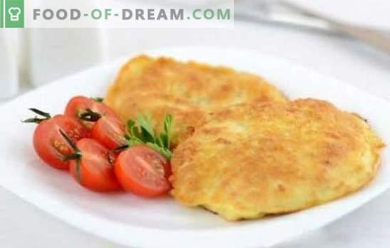 Kana tükid taignas on krõbedad! Retseptid kanafilee valmistamiseks õlle taignas, juustu ja pähklitega