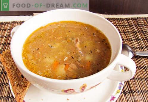 Saury Soup - receitas comprovadas. Como corretamente e saboroso cozinhar saury sopa.
