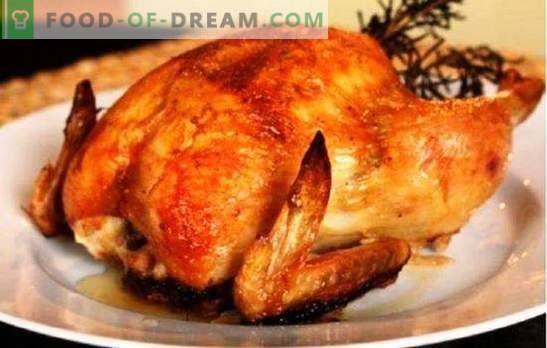 Kogu kana multikookeris ei põle, see ei kuiva! Retseptid erinevate kanade valmistamiseks aeglases pliidis tervikuna