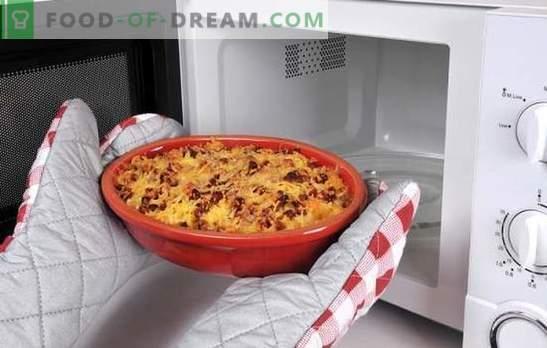 Пица рецепта в микровълнова печка - италианците ще бъдат шокирани от това ястие! Рецепти за пица в микровълнова фурна с различни пълнежи