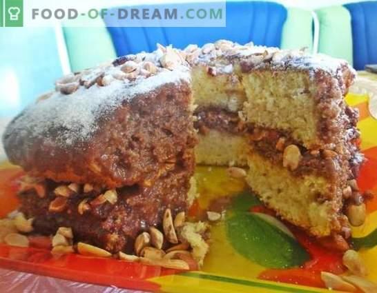 Maitsev kook iga pidu jaoks, kauaoodatud - Snickers! Foto-retsept samm-sammult tegemine kook