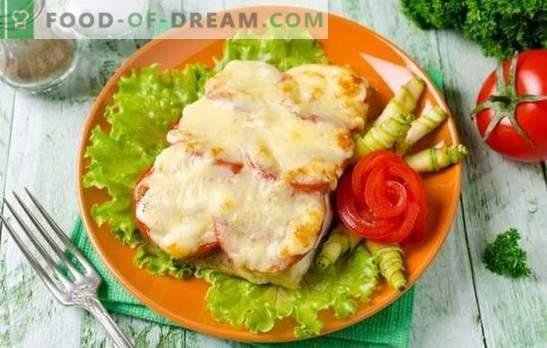 Tilapia juustuga on õrn kala. Tilapia variandid juustuga taignas, tainas, rulli, pajaroogade ja praadide kujul