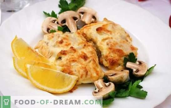 Juustuga tursk on õrn kala, mille maitsev koorik on. Lihtne ja originaalne tursapuru retsept