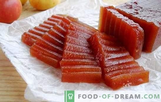 Omatehtud õunamarmelaadid - tõestatud retseptid. Õuna marmelaad kodus: mikrolaineahjus või ahjus