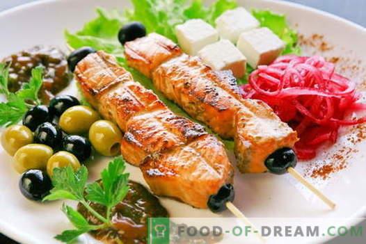 Top 10 originaalset marinaati kebabide jaoks