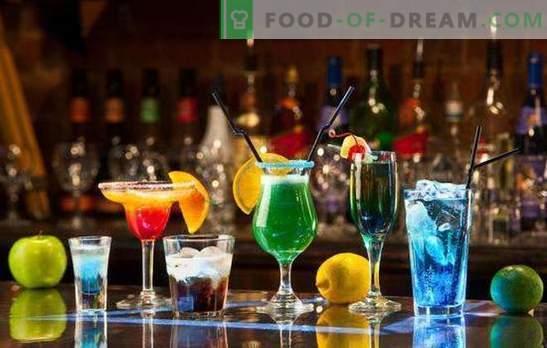 Alkohoolsed aastavahetuse kokteilid: TOP-5 retseptid. Kuidas ilusalt haarata?