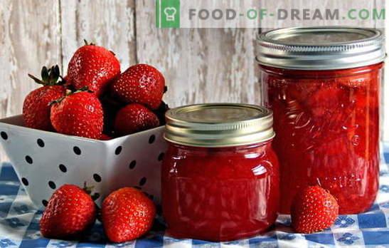 Maasika säilitamine - lõhna ja maitse säilitamine. Maasika säilitamine: moosi, kompoti, moosi jms retseptid