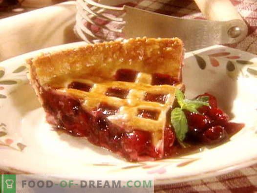 Cherry Pie - parimad retseptid. Kuidas korralikult ja maitsvalt valmistada kirsikirti.