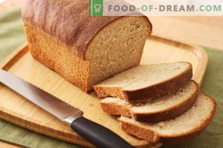Leib tegijana - parimad retseptid. Kuidas kodus leiba küpsetada.