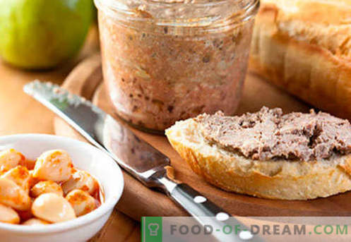 Sealiha maksa past - parimad retseptid. Kuidas korralikult ja maitsvalt süüa sealiha maksa pastat.