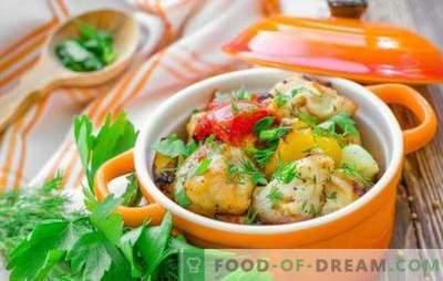 Kana rinnatükid potis - win-win! Kanafilee retseptid köögiviljadega, seentega, tatariga, puuviljadega potis