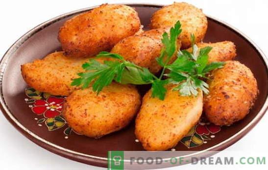 Pozharsky cutlets - kuninglik roog! Retseptid tuletõrjujate kotletid: klassikalised, röstitud, seened, juust, sea- ja vasikaliha
