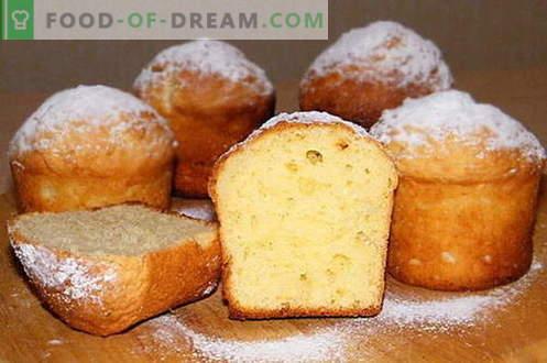 Juustukook - parimad retseptid. Kuidas korralikult ja maitsev kokk kohupiima kook.