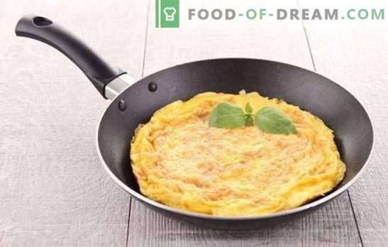 Omlett klassikaline - Prantsuse hommikusöök. Kuidas valmistada klassikalist omlett: lihtsad ja maitsvad retseptid