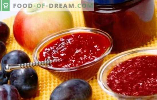 Jam õunadest ja ploomidest - merevaigukollane tee ja küpsetamine. Parimad retseptid õunte ja ploomide lõhnalisele moosile