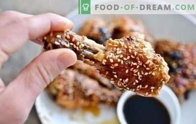 Ingverikana: lihtsad toitumisalased retseptid. Kuidas valmistada kana ingveri, mee, sojakaste, apelsinidega?
