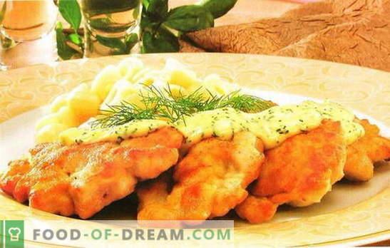 Kana rinnatükk porganditega on ilus toitumine. Kanarindade ja porgandi retseptid: rull, praad, salat, lihapallid