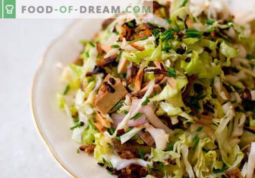 Kevad salat - valik parimaid retsepte. Kuidas õigesti ja maitsev kokk kevadine salat.