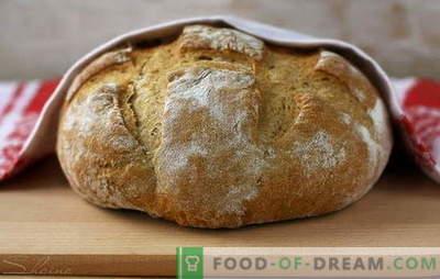 Kodus valmistatud parem kui ostetud - rukkileib! Pärmidel ja kefiiril koos pärmiga ja ilma - omatehtud rukkileibu retseptid