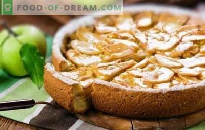 Õrn charlotte hapukoorega ja õunaga on kogu pere delikatess. Kuidas valmistada kuiva leibast hapukoorega ja õunaga charlotte
