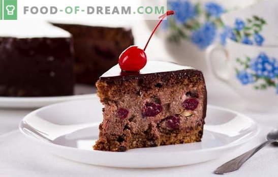 Drunk Cherry Cake kodus - ärge purjus! Retseptikook