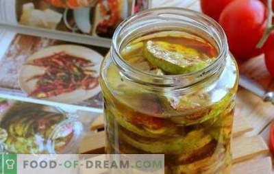 Salat, suvikõrvits ja tomatid talveks - varu kuni hooajani! Parimate suvikõrvitsaste ja tomati salatite retseptid talveks