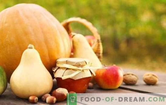 Kõrvitsamahl koos õunadega - ebatavaline maitsekombinatsioon. Klassikalised ja eksootilised võimalused kõrvitsa moosi keetmiseks õunadega